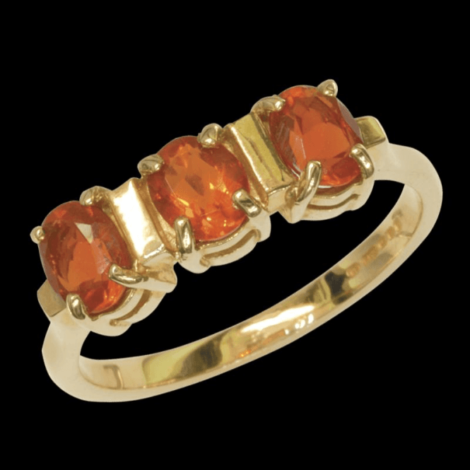 Ladies Shipton and Co Exclusive 9ct Yellow Gold and Fire Opal Ring RY1271FO