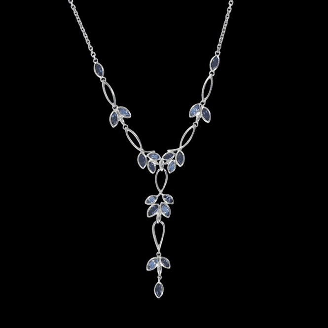 Ladies Shipton and Co Exclusive Silver and Multiple Stone Necklace NQA200MU8