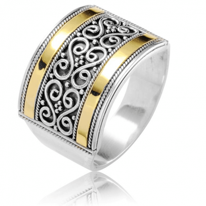 Ladies Shipton and Co Silver Ring TSS258NS