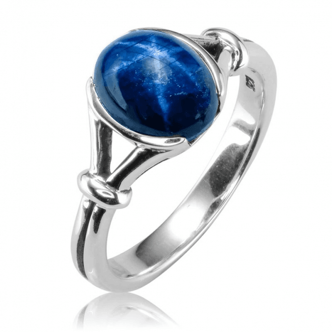 Ladies Shipton and Co Silver and Star Sapphire Ring RQA634AS