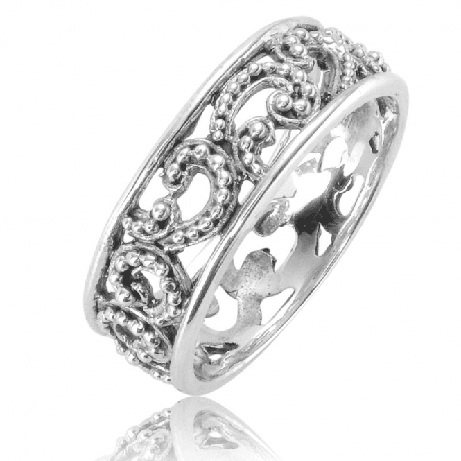 Ladies Shipton and Co Silver Ring TSS275NS