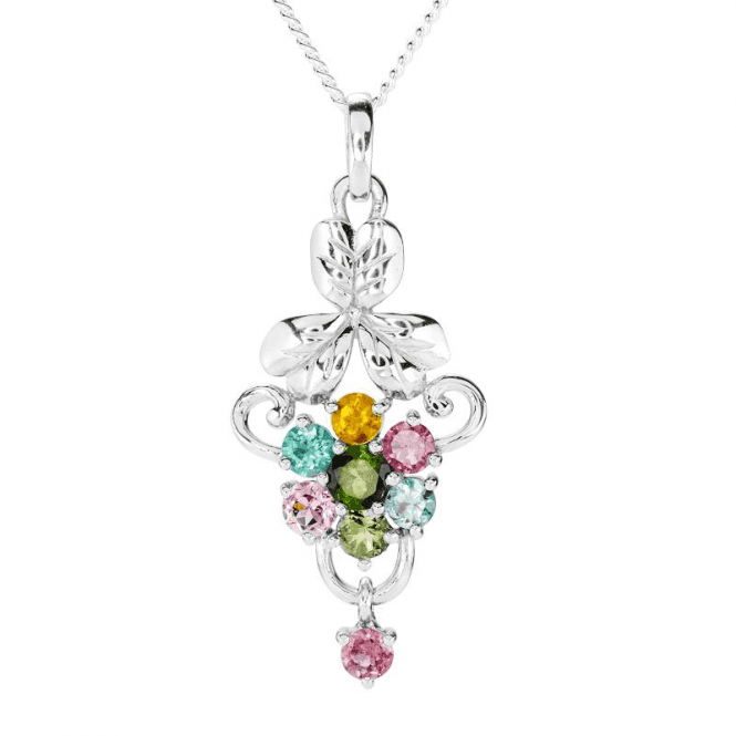 Botanical Artistry with 2¾cts of Tourmaline Colours