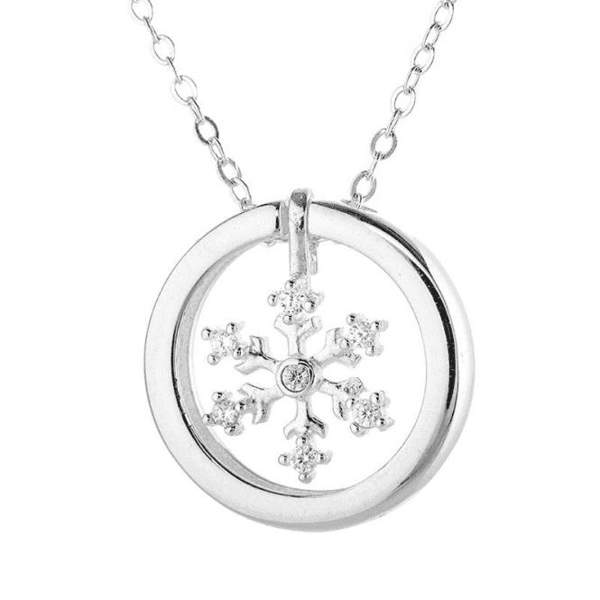 Sparkling Snowflake Necklet
