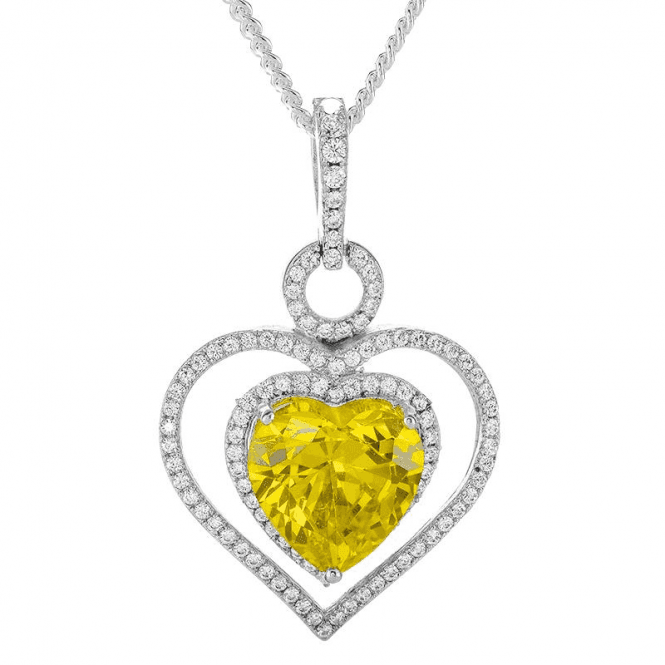 Your Heart in Mine Pendant