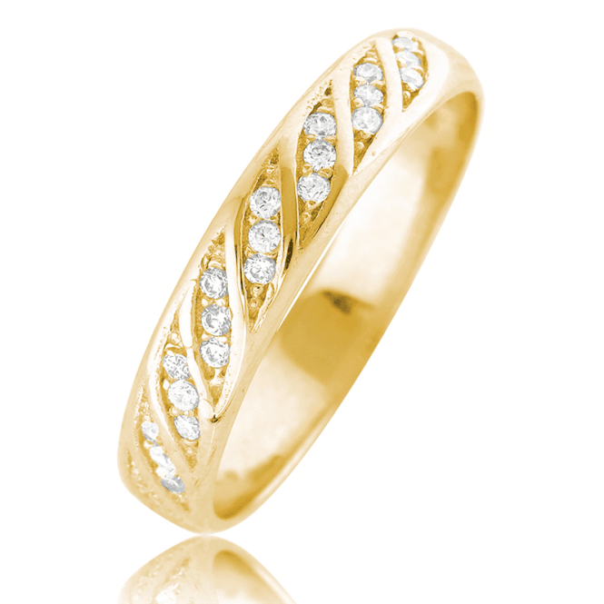 Wear your Sparkle in 9ct Gold