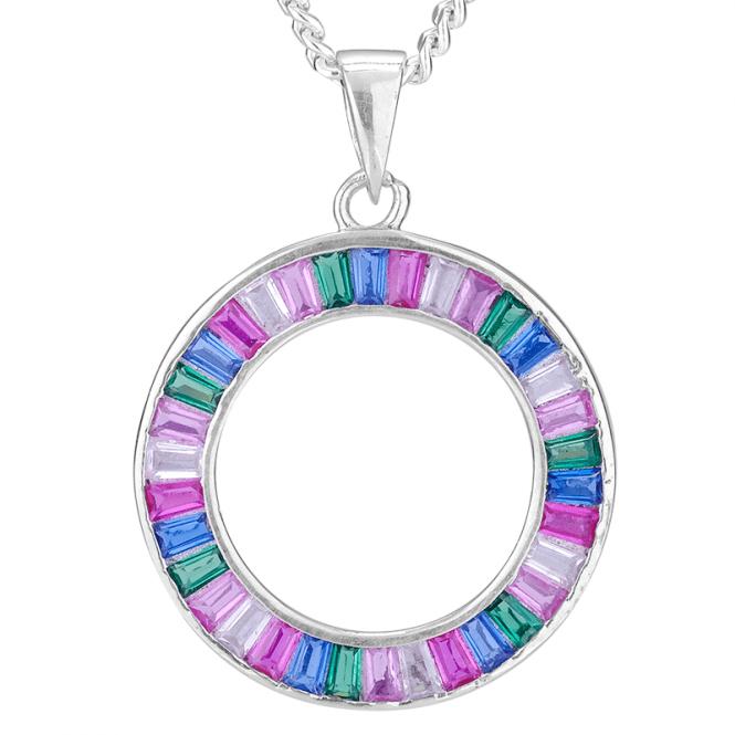 Aurora Pendant  A Rainbow Romance