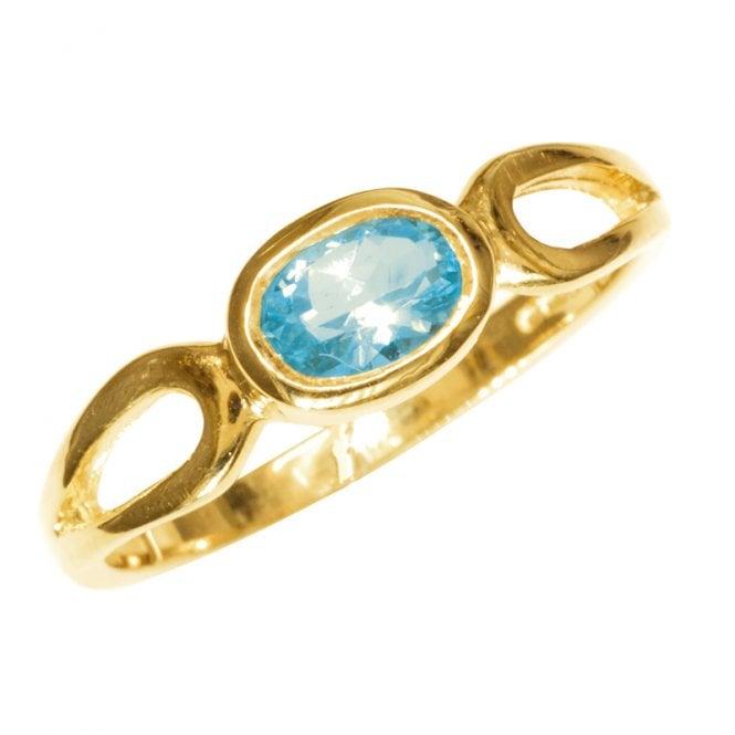 Ring 9ct 1190 Aquamarine