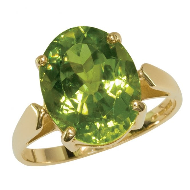 Ladies Shipton and Co Exclusive 9ct Yellow Gold and Peridot Ring RY1984PE