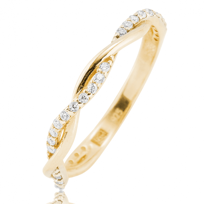 Two Stories Woven into One 9ct Gold Ring
