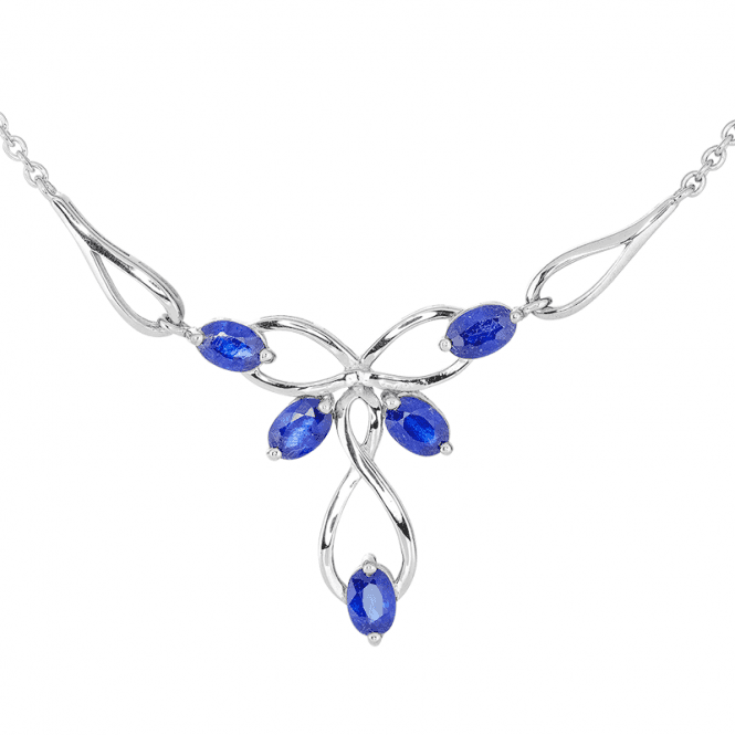 Sirmione Necklet with 3½cts of Sapphire