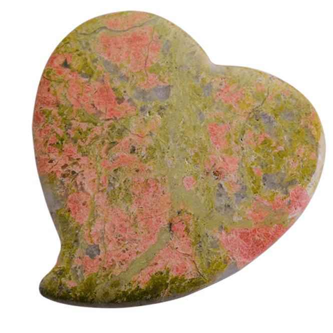 Epidote Heart