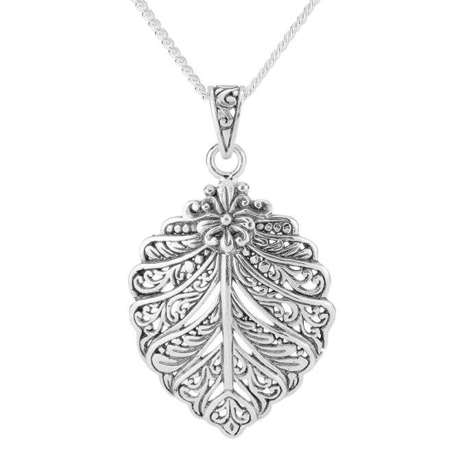Art Nouveau Silver Dream Pendant  Save £40