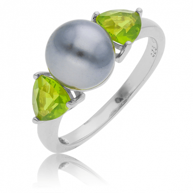 Serious Wow Factor from a Sparkling Pearl Ring