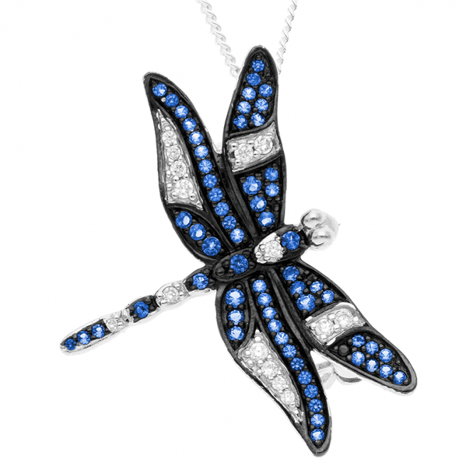 Wear your Sparkling Dragonfly as a Pendant or Brooch