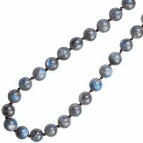 Ladies Shipton and Co Silver 28 Long Flashing Blue Labradorite Beads BKC009LB