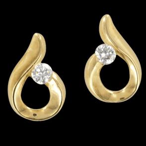 Exclusive Diamond Embrace Earrings