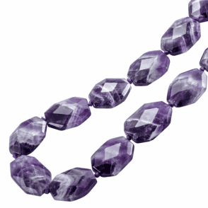 Ladies Shipton and Co Exclusive Silver and Amethyst Quartz Beads BSS058AU