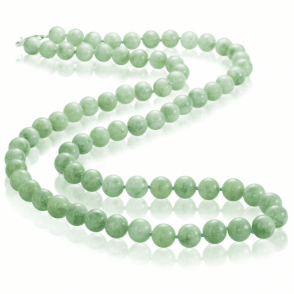 Ladies Shipton and Co Silver and Green Jade & Jadeite Beads BFE022GJ