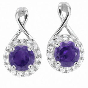 Ladies Shipton and Co Silver and Amethyst  TFE093AMWT