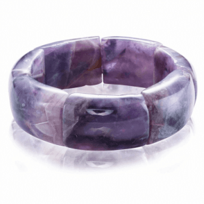 Ladies Shipton and Co Silver and Amethyst Quartz Beads BFE052AU