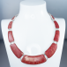 Ladies Shipton and Co Silver and Coral Necklace TFE097CL