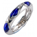 Ladies Shipton and Co Silver and Enamel Ring TAO047NS